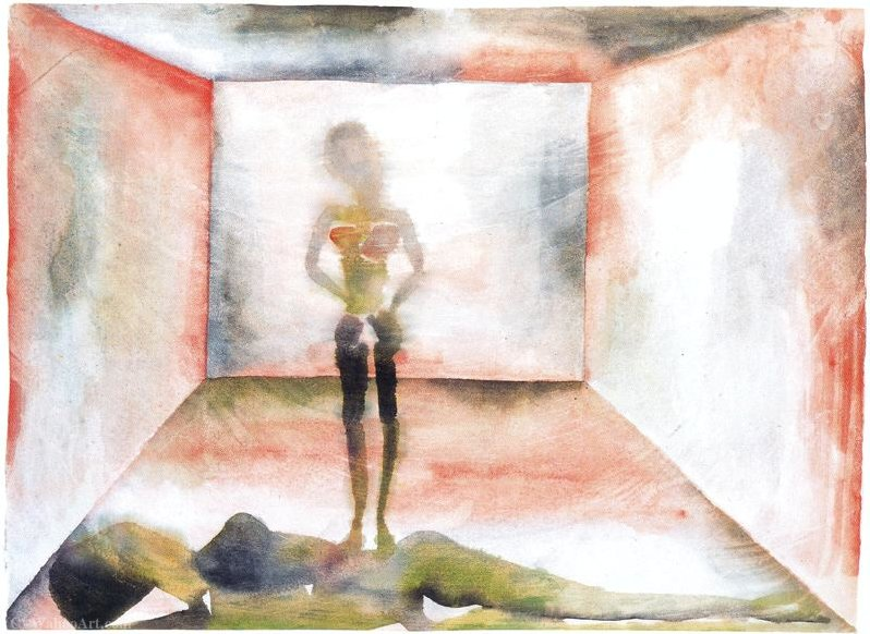 Untitled (508) por Francesco Clemente