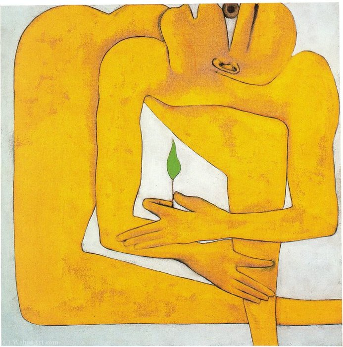 Untitled (420) por Francesco Clemente