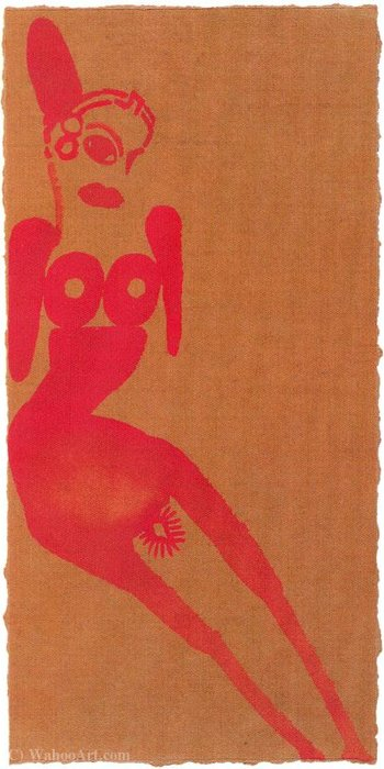Untitled (185) por Francesco Clemente