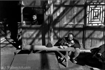 Pekin china grande por Henri Cartier-Bresson