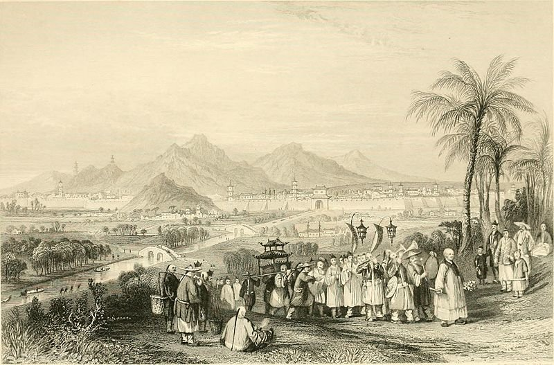 City of Nanking por Thomas Allom (1804-1872, United Kingdom)