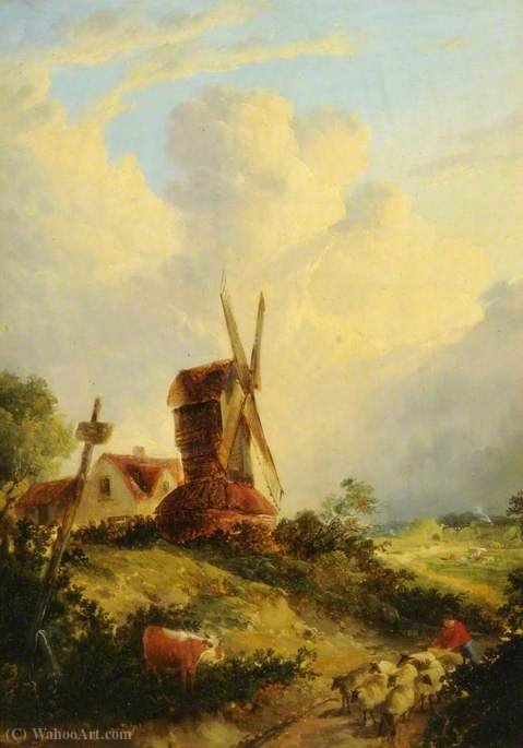 Um moinho norfolk por George Vincent (1796-1831, United Kingdom)