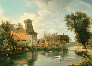 George Vincent - A millpool Norfolk