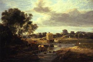 George Vincent - Trowse Meadows, perto de Norwich