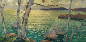 Jonas Lie - A partir do Rockport Shore