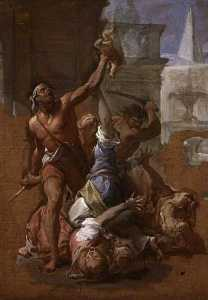 Francesco Trevisani - Estuda para -The Massacrar do Innocents-