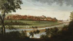 James Wales - Vista de Banff em 1775
