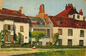 Eric Trayler Cook - Burne Jones-s Casa , Rottingda , Leste Sussex