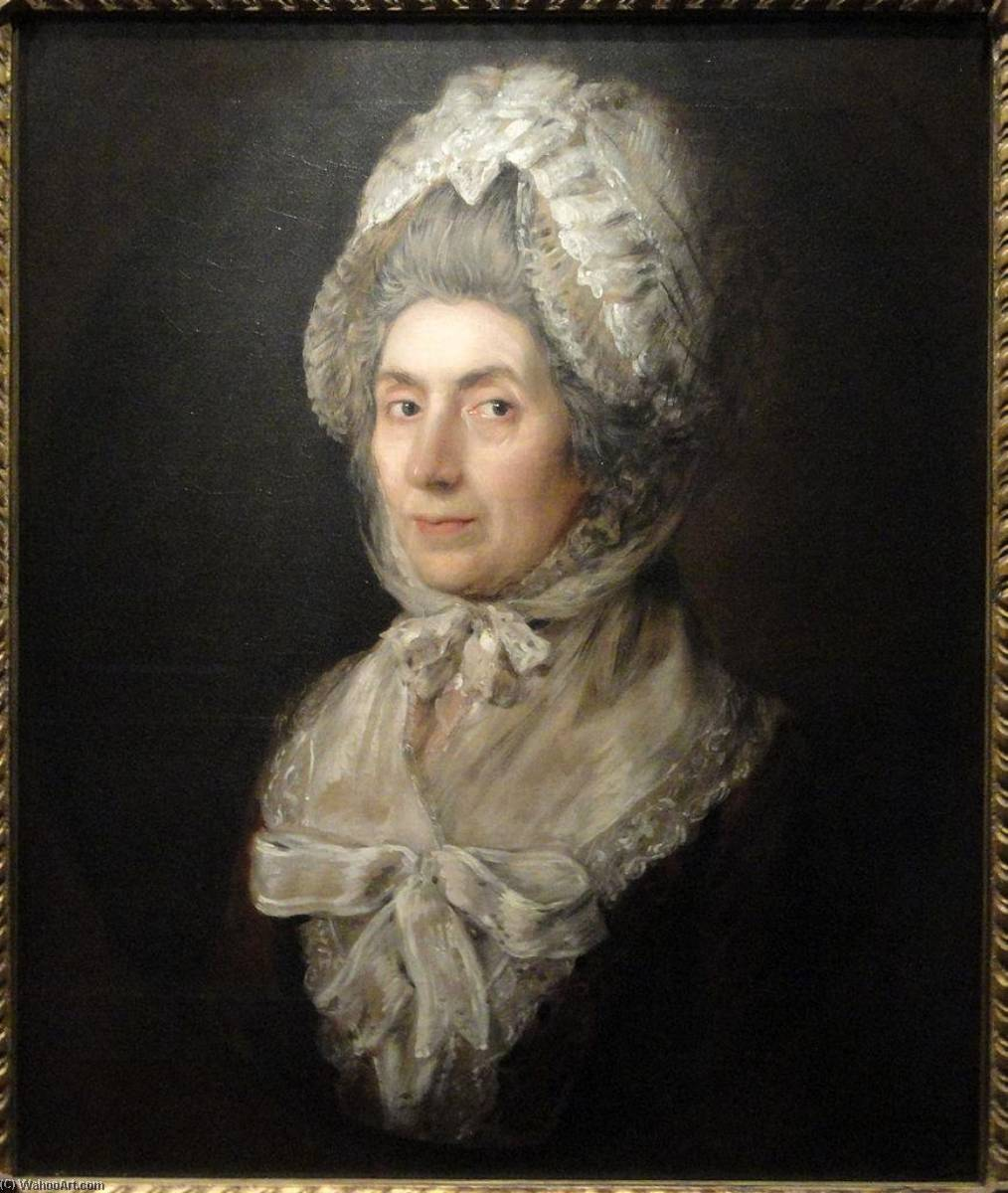 Senhora . philip dupont, 1778 por Thomas Gainsborough (1727-1788, United Kingdom) | Reproduções De Pinturas Thomas Gainsborough | ArtsDot.com
