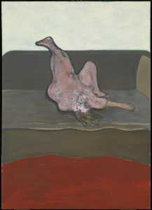 Francis Bacon - reclináveis mulher