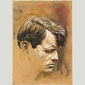 Louis S Glanzman - robert f . Kennedy