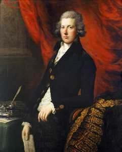 Thomas Gainsborough - o direito honroso  William Pitt o mais novo  1759–1806