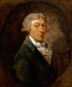 Thomas Gainsborough - autoretrato