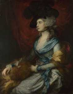 Thomas Gainsborough - Sra Siddons