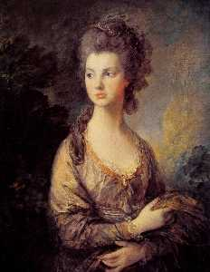 Thomas Gainsborough - Sra Graham