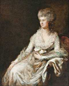 Thomas Gainsborough - madame lebrun