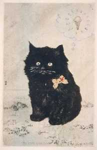 Joe Brainard - Gato e Cone